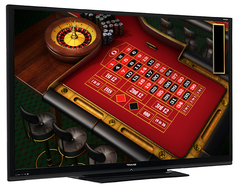 Fullhd roulette for Table tv a roulettes